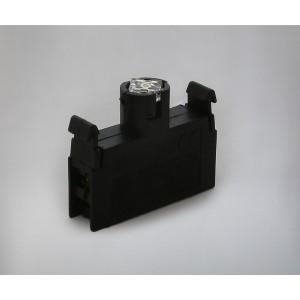 Kontakt z utripajočo led diodo ECL