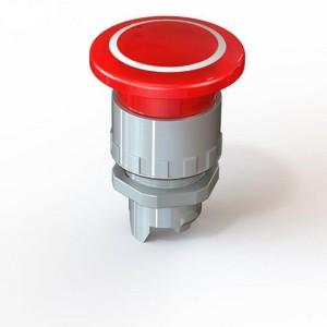 Svetleča zaskočna goba `pritisni - pritisni` MFBL/PP fi40