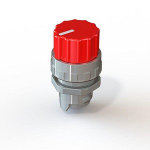 Preklopnik z okroglim gumbom MSO
