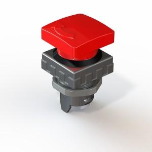 Tipka gobasta zaskočna 30x30 QFB