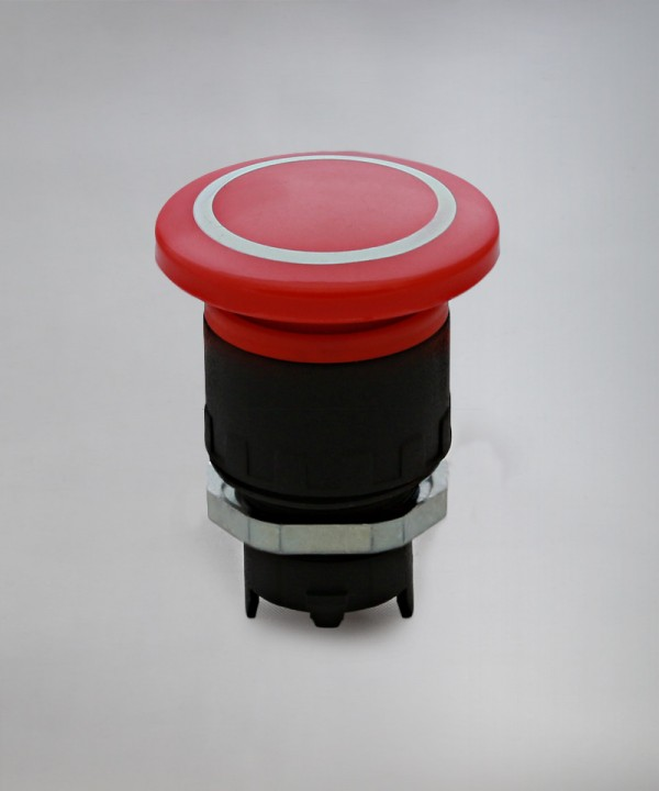 Tipka gobasta zaskočna # pritisni pritisni EFB / PP fi 40- rdeča