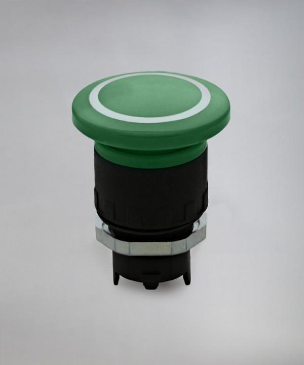 Tipka gobasta zaskočna # pritisni pritisni EFB / PP fi 40 - zelena